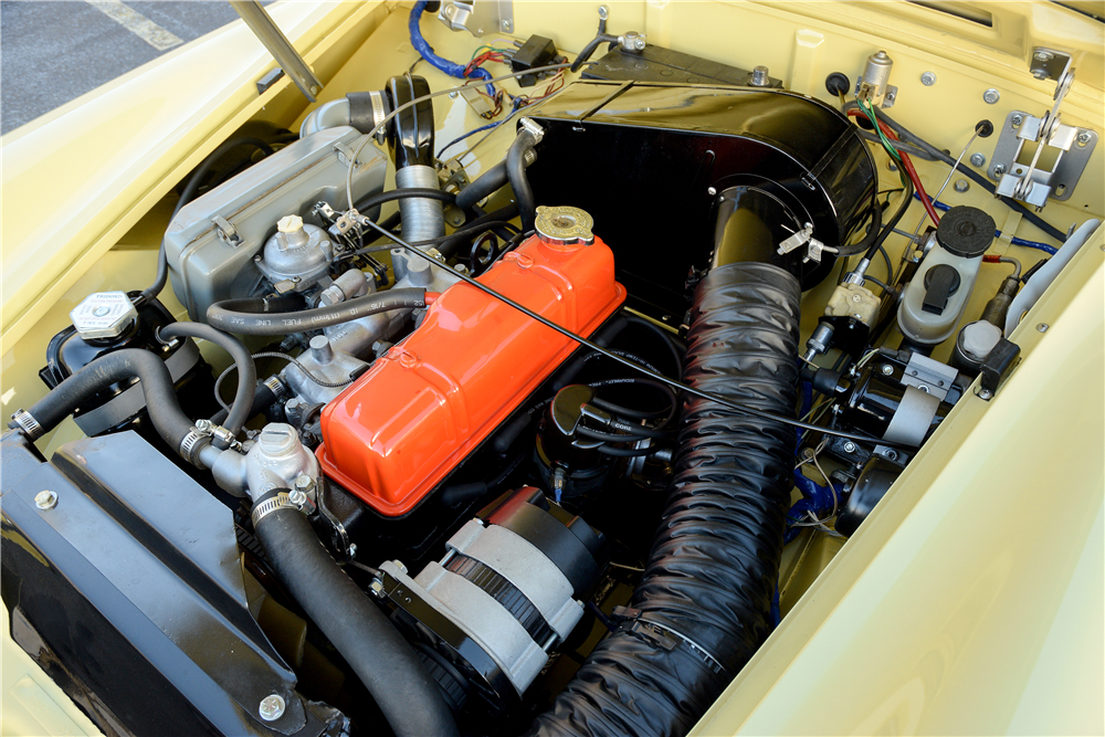 1976 MG MIDGET CONVERTIBLE - Engine - 189583