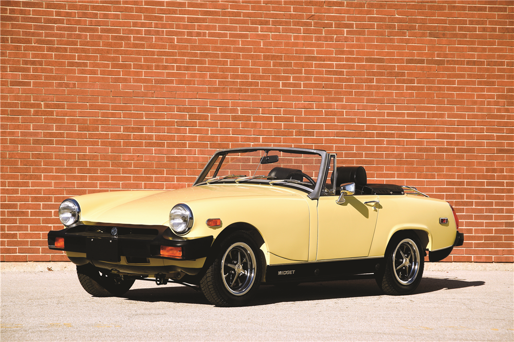 1976 MG MIDGET CONVERTIBLE - Front 3/4 - 189583