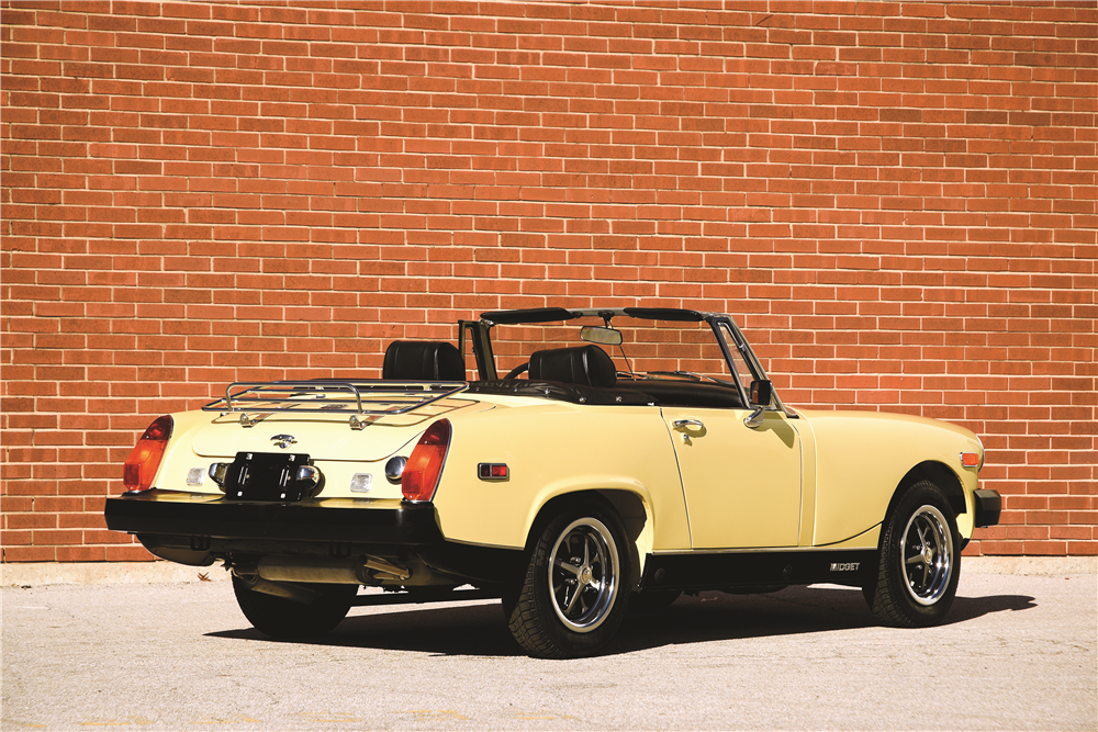 1976 MG MIDGET CONVERTIBLE - Rear 3/4 - 189583