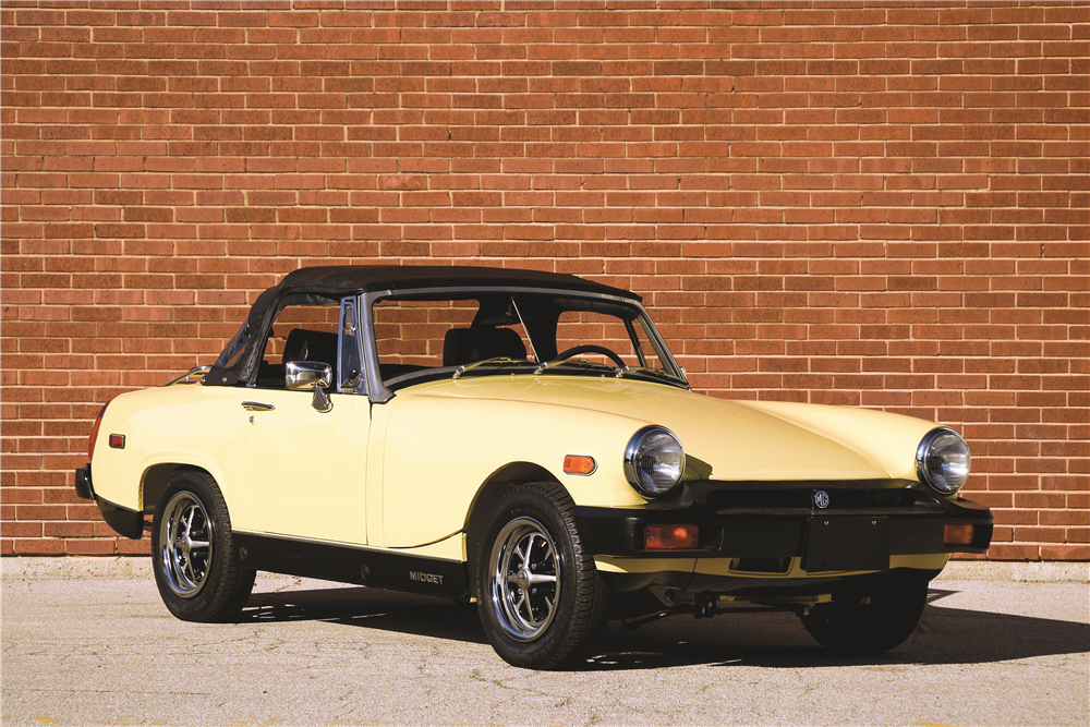1976 MG MIDGET CONVERTIBLE - Side Profile - 189583