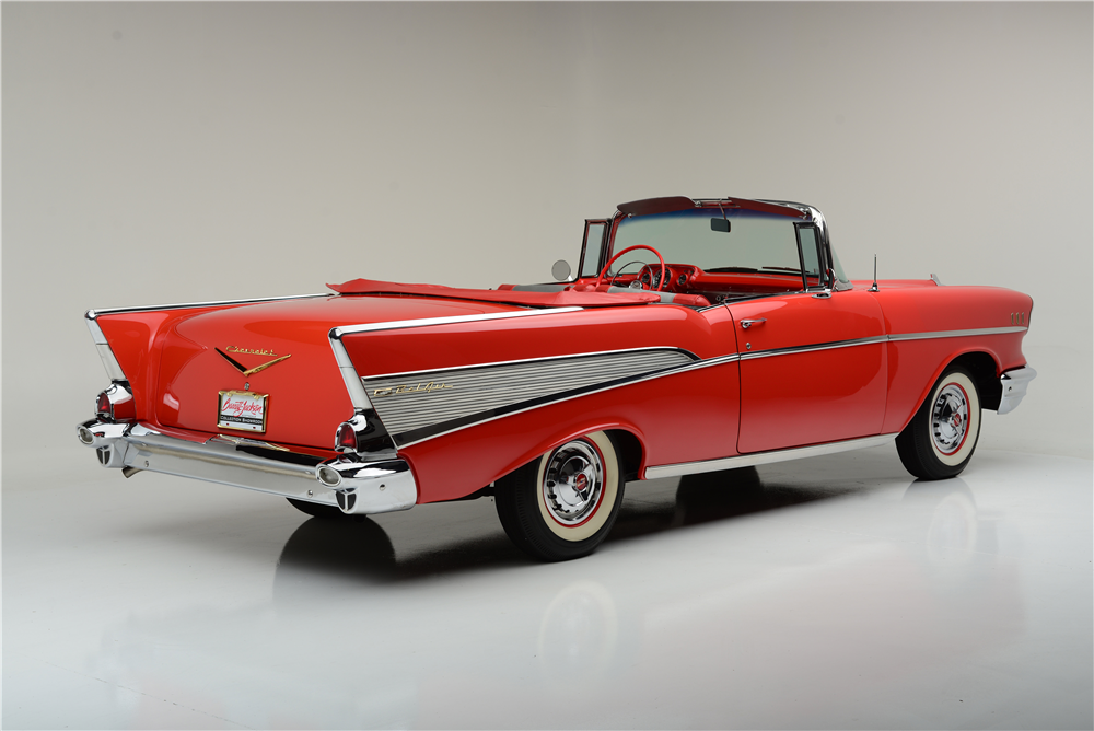 1957 CHEVROLET BEL AIR CONVERTIBLE - Misc 2 - 189587