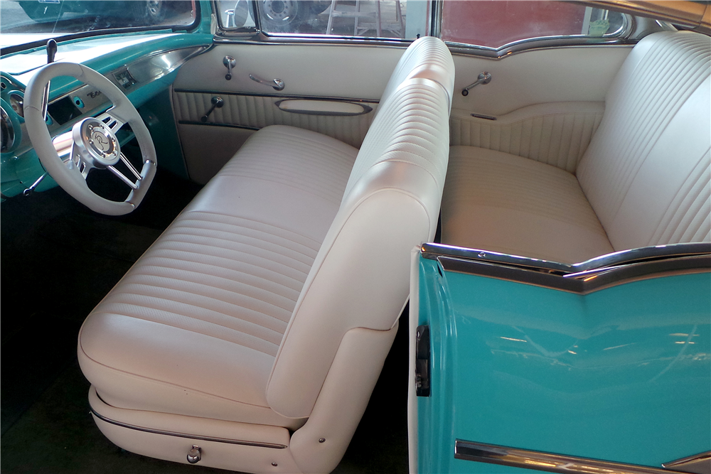1957 CHEVROLET BEL AIR CUSTOM HARDTOP - Interior - 189589
