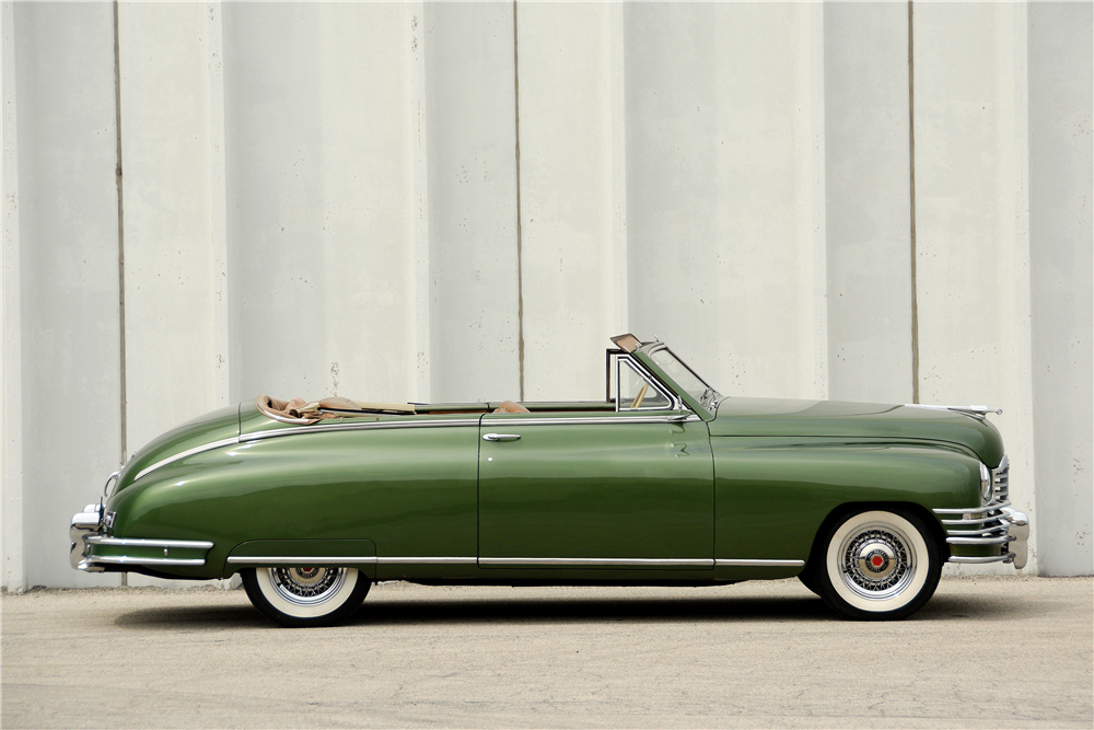 1948 PACKARD SUPER 8 CONVERTIBLE - Side Profile - 189592