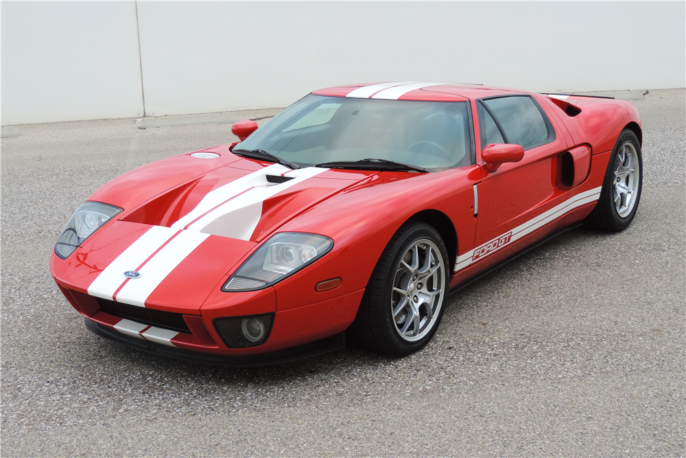 2005 FORD GT - Front 3/4 - 189606