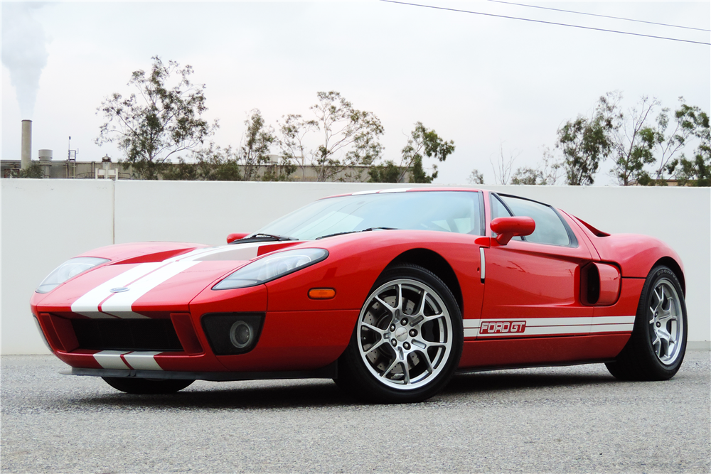 2005 FORD GT - Side Profile - 189606