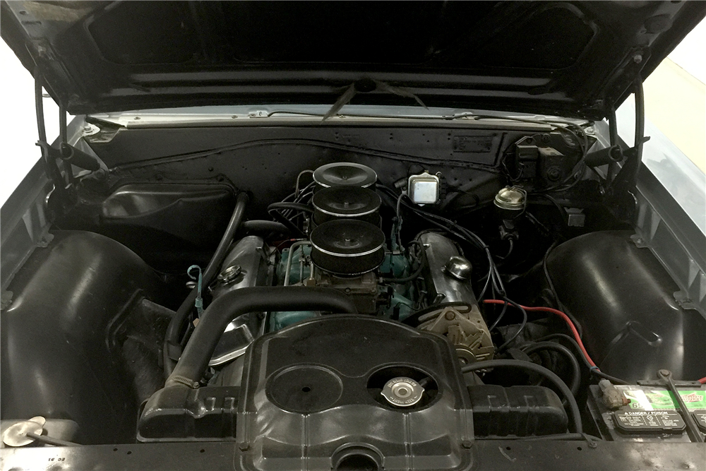 1965 PONTIAC LEMANS CONVERTIBLE - Engine - 189607