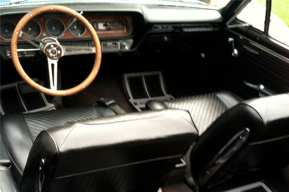 1965 PONTIAC LEMANS CONVERTIBLE - Interior - 189607