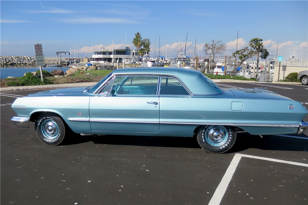 1963 CHEVROLET IMPALA SS 409 - Side Profile - 189613