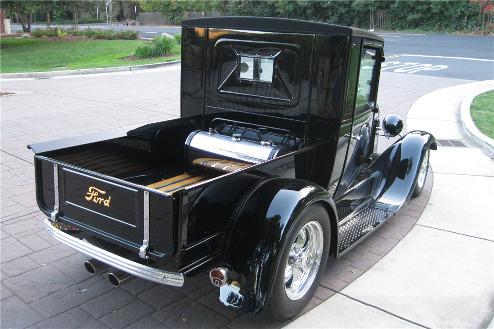 1928 FORD MODEL A CUSTOM PICKUP - Rear 3/4 - 189626