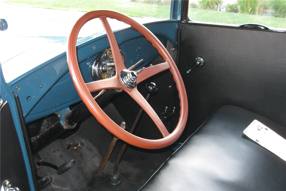1928 FORD MODEL A PICKUP - Interior - 189627