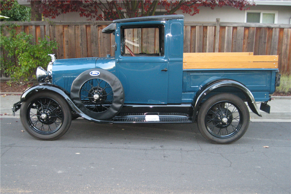 1928 FORD MODEL A PICKUP - Side Profile - 189627