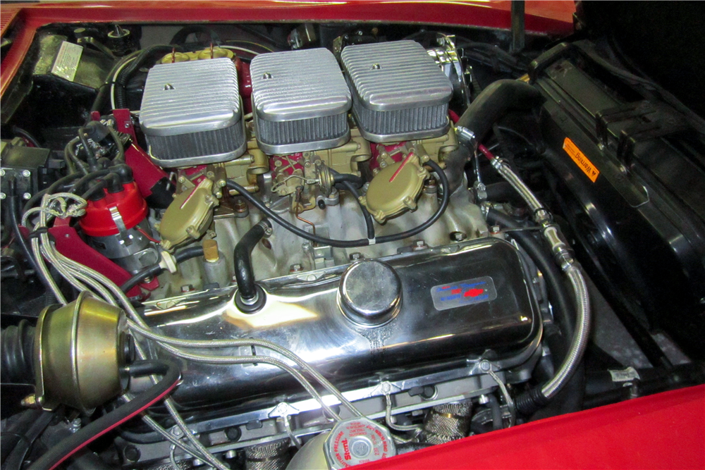 1968 CHEVROLET CORVETTE CONVERTIBLE - Engine - 189631