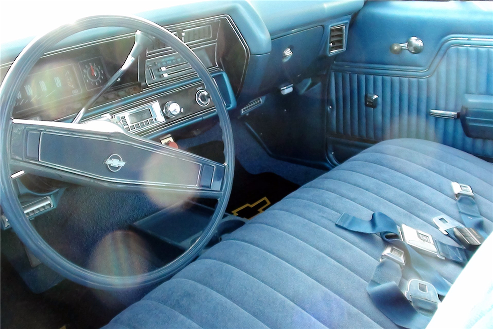 1970 CHEVROLET EL CAMINO PICKUP - Interior - 189636