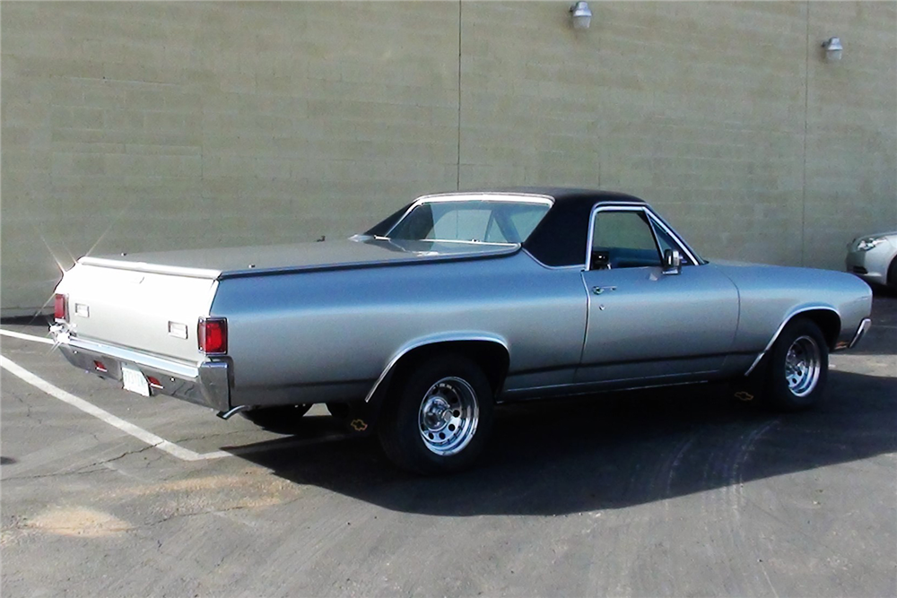 1970 CHEVROLET EL CAMINO PICKUP - Rear 3/4 - 189636