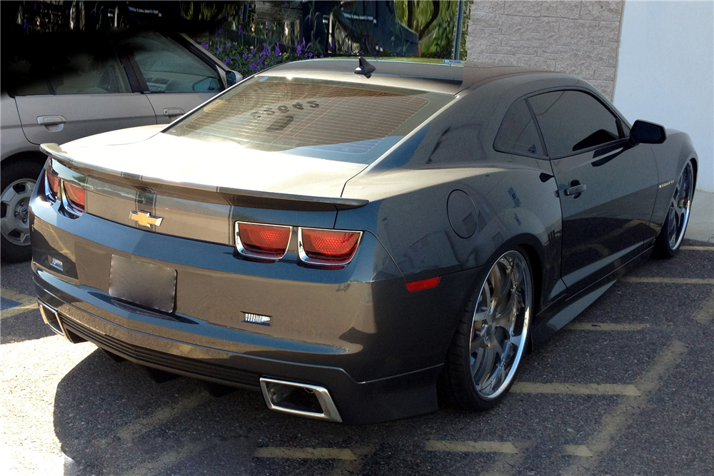 2010 CHEVROLET CAMARO 2SS RS CUSTOM COUPE 189638