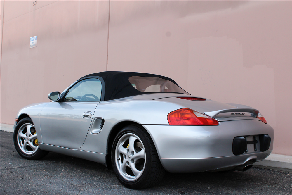 1997 PORSCHE BOXSTER CONVERTIBLE - Rear 3/4 - 189645