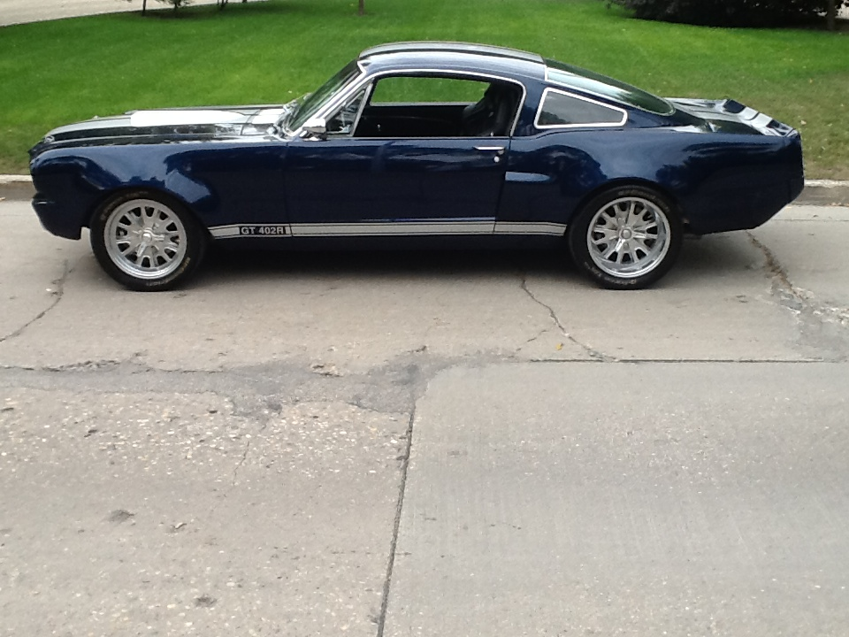 1965 FORD MUSTANG CUSTOM FASTBACK - Side Profile - 189657