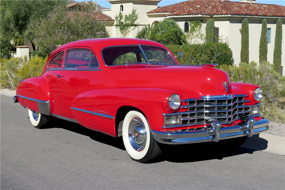 1947 CADILLAC SERIES 62  - Front 3/4 - 189661