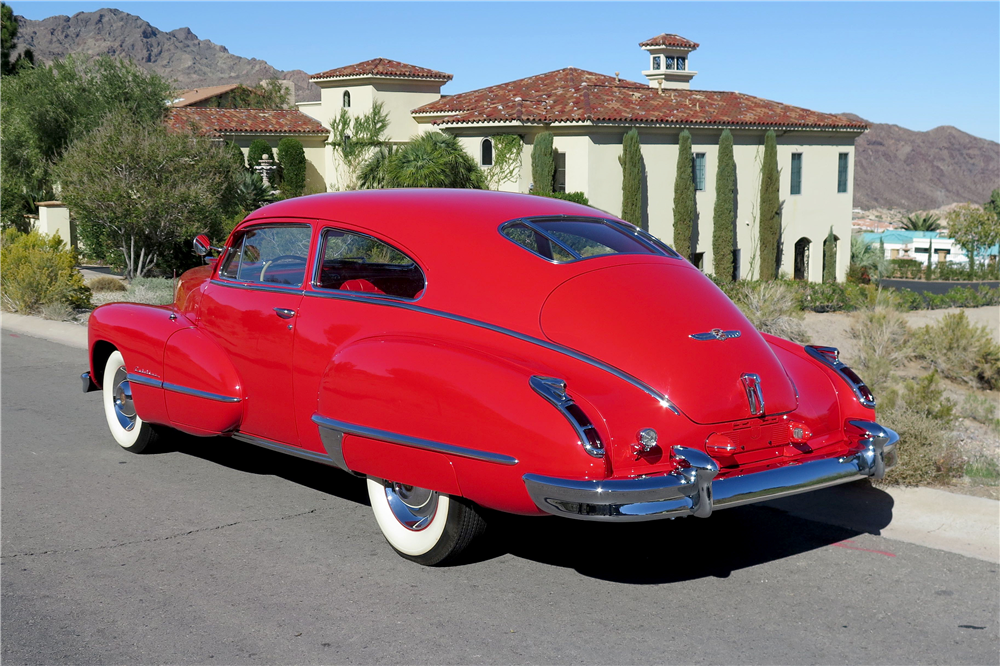 1947 CADILLAC SERIES 62  - Rear 3/4 - 189661