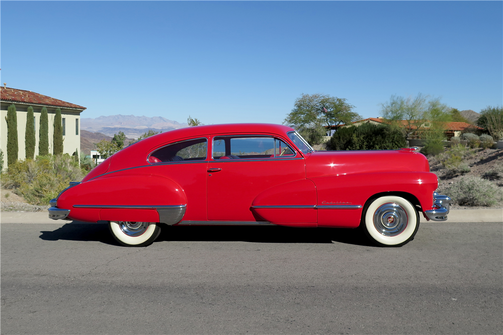 1947 CADILLAC SERIES 62  - Side Profile - 189661