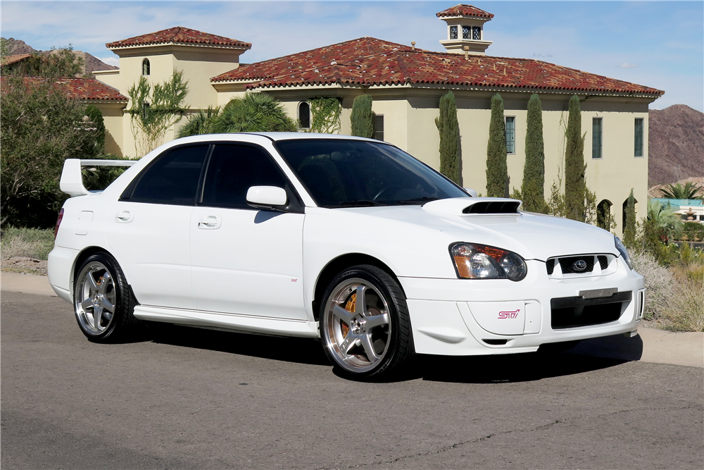 2004 subaru wrx sti custom sedan 189663. Black Bedroom Furniture Sets. Home Design Ideas