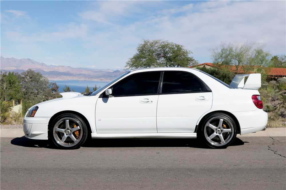 2004 SUBARU WRX STI CUSTOM SEDAN - Side Profile - 189663