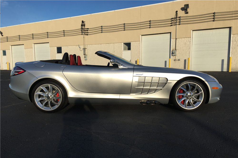 2008 MERCEDES-BENZ SLR MCLAREN ROADSTER - Side Profile - 189670
