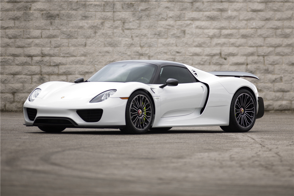 2015 porsche 918 spyder weissach 189676. Black Bedroom Furniture Sets. Home Design Ideas