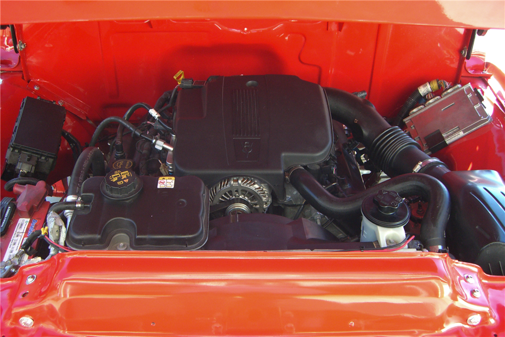 1956 FORD F-100 CUSTOM PICKUP - Engine - 189681