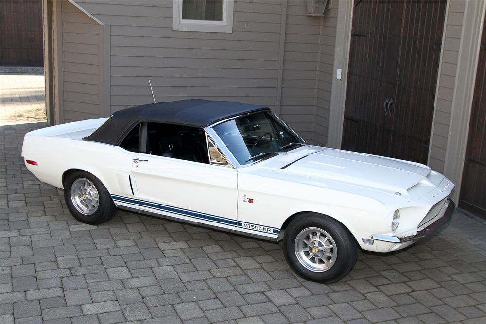 1968 SHELBY GT500 KR CONVERTIBLE - Front 3/4 - 189690