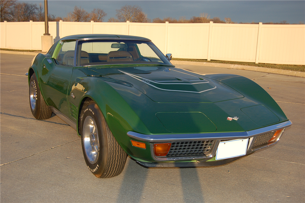 1972 CHEVROLET CORVETTE ZR1 - Front 3/4 - 189695