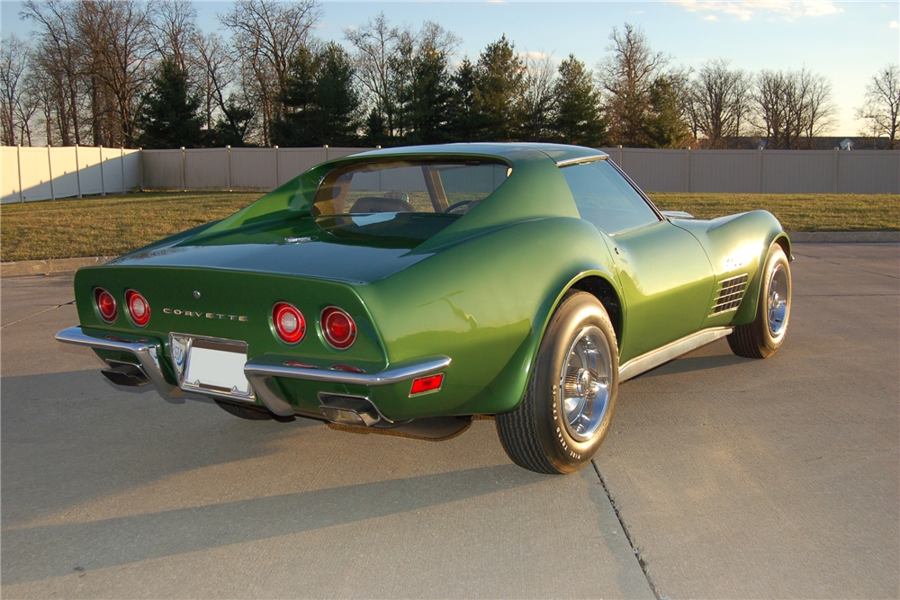 1972 CHEVROLET CORVETTE ZR1 - Rear 3/4 - 189695