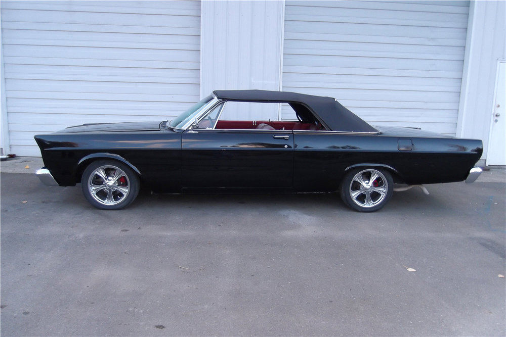 1965 FORD GALAXIE 500 CUSTOM CONVERTIBLE - Side Profile - 189704