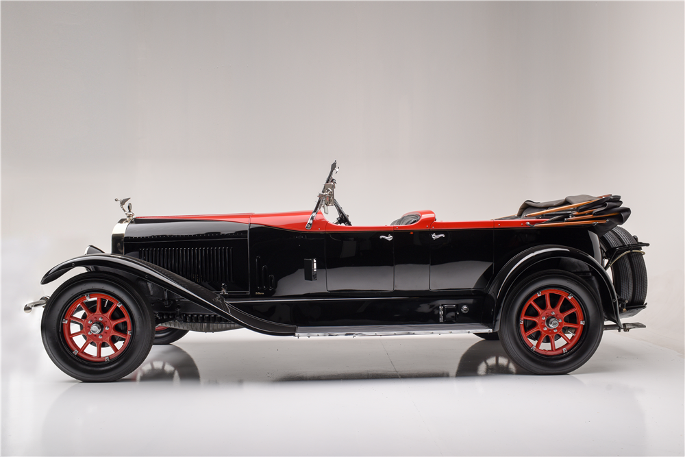 1924 ISOTTA FRASCHINI TIPO 8A  - Side Profile - 189705