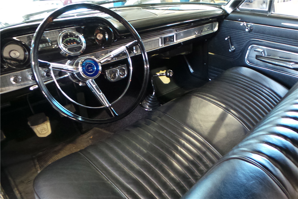 "1963 FORD GALAXIE ""R CODE"" - Interior - 189720"