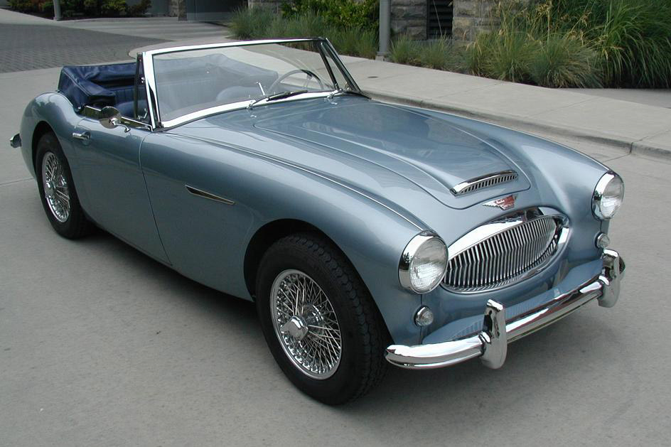 1964 AUSTIN-HEALEY 3000 MARK III BJ8 CONVERTIBLE - Front 3/4 - 189722
