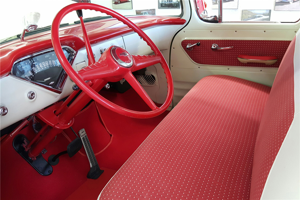 1955 CHEVROLET CAMEO PICKUP - Interior - 189723