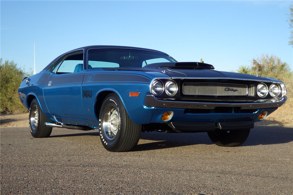 1970 DODGE CHALLENGER T/A  - Front 3/4 - 189733