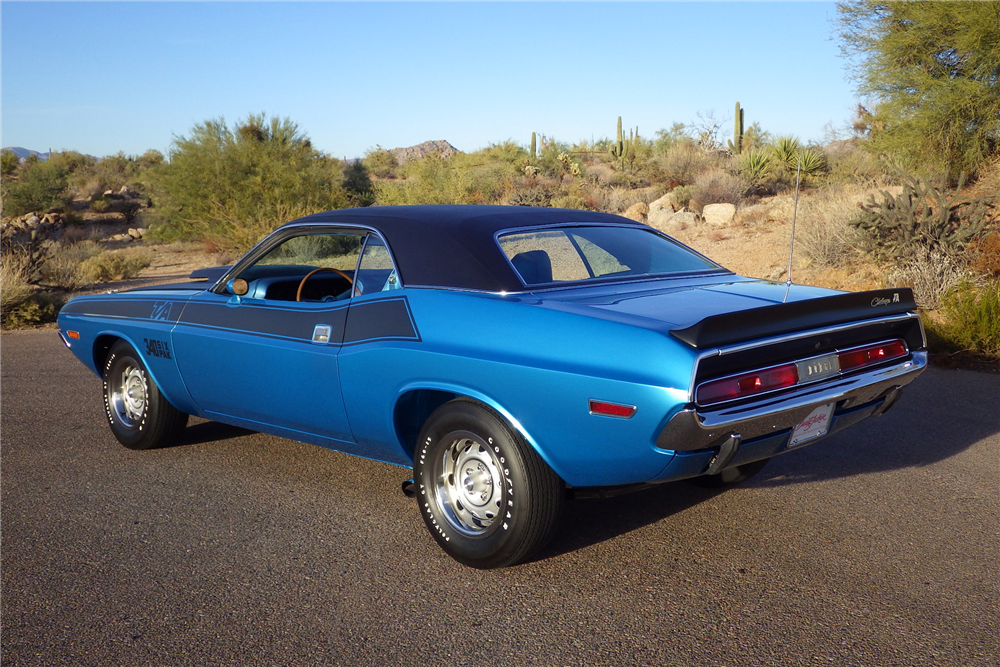 1970 DODGE CHALLENGER T/A  - Rear 3/4 - 189733