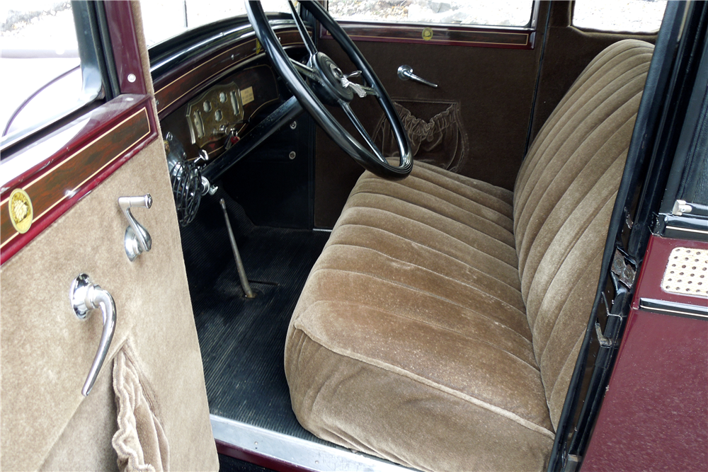 1929 REO FLYING CLOUD CUSTOM COUPE - Interior - 189734