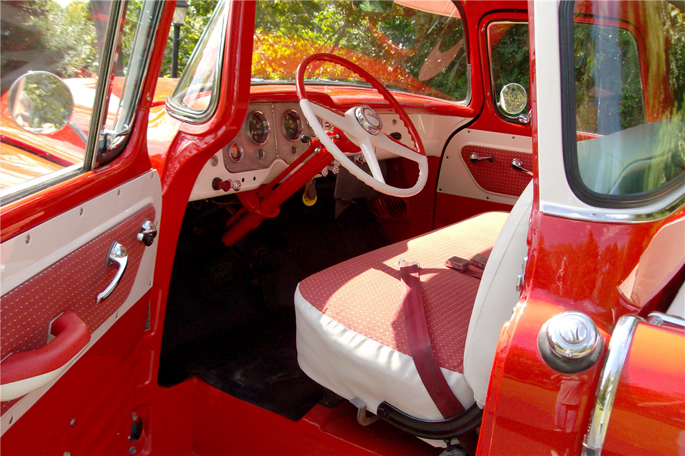 1956 GMC SUBURBAN CARRIER PICKUP - Interior - 189744