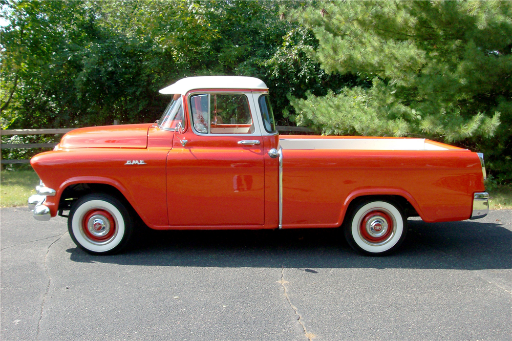 1956 GMC SUBURBAN CARRIER PICKUP - Side Profile - 189744