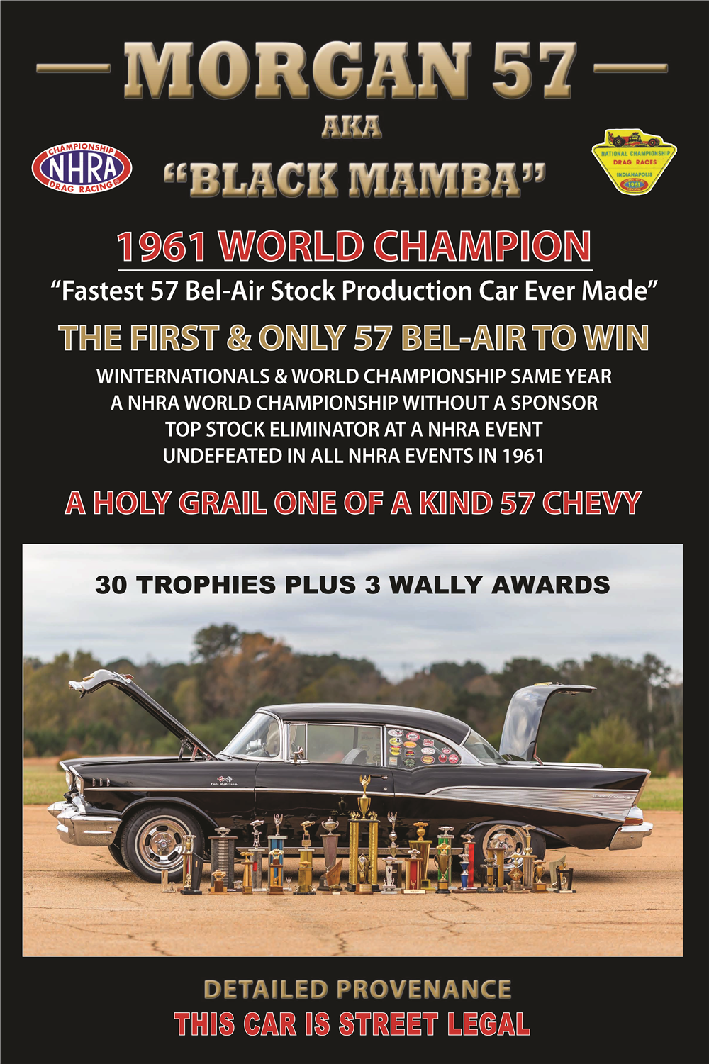 1957 CHEVROLET BEL AIR RACE CAR - Misc 2 - 189750