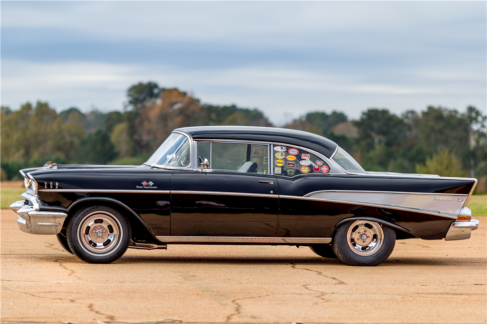 1957 CHEVROLET BEL AIR RACE CAR - Side Profile - 189750