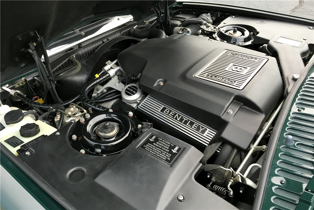1998 BENTLEY AZURE CONVERTIBLE - Engine - 189758