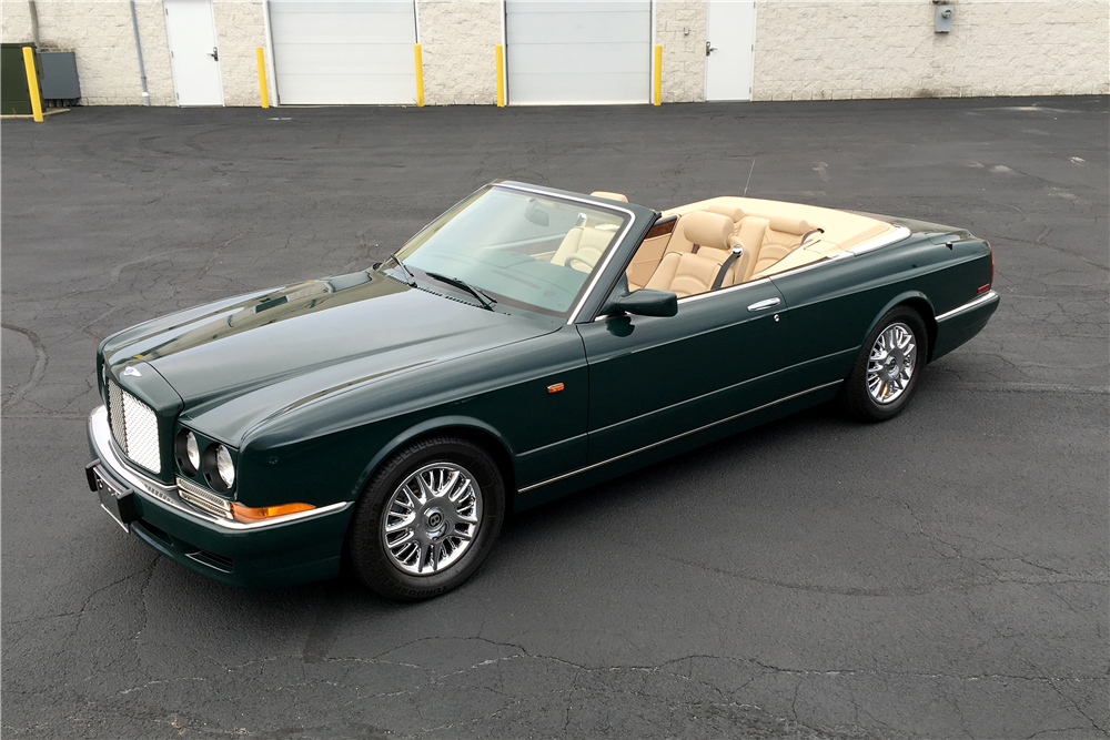 1998 BENTLEY AZURE CONVERTIBLE - Front 3/4 - 189758