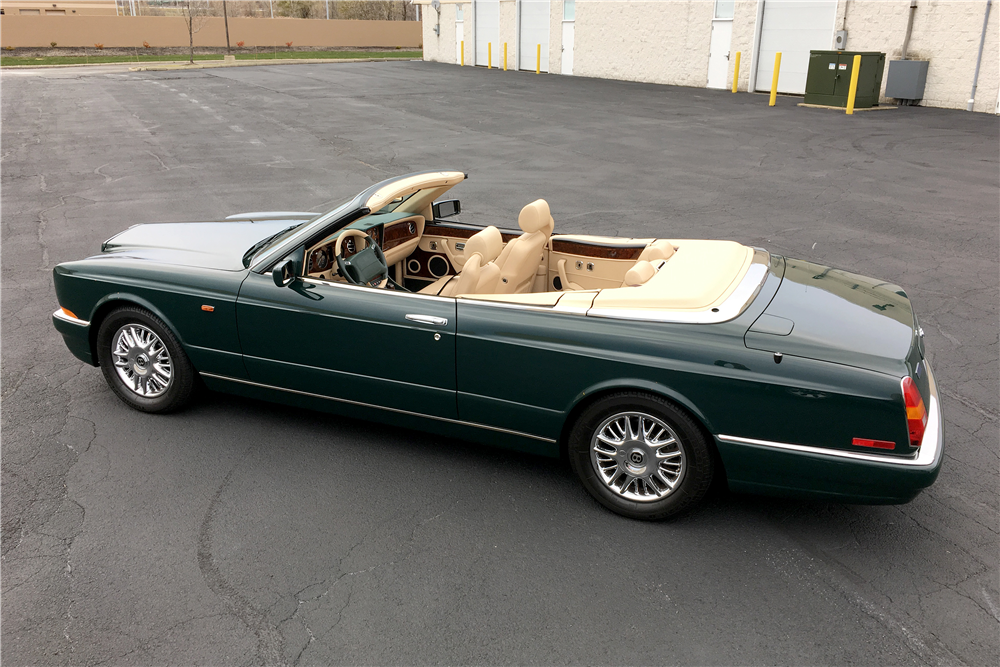 1998 BENTLEY AZURE CONVERTIBLE - Side Profile - 189758