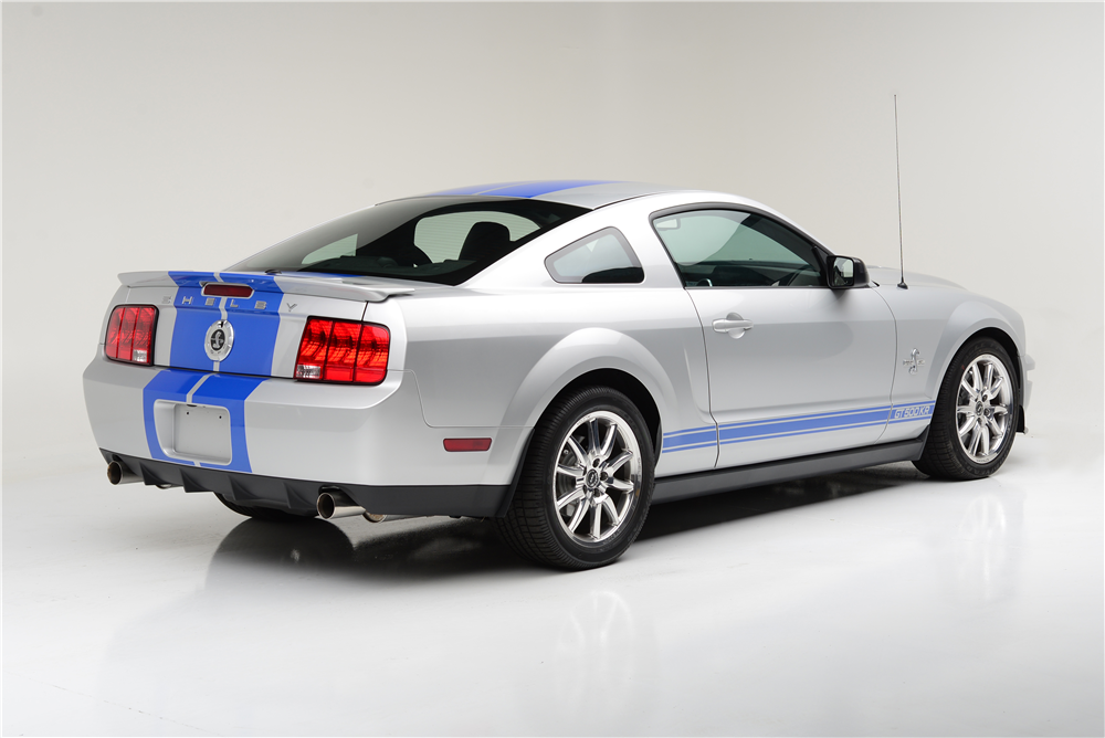 2008 SHELBY GT500 KR SERIAL #001 - Rear 3/4 - 189765