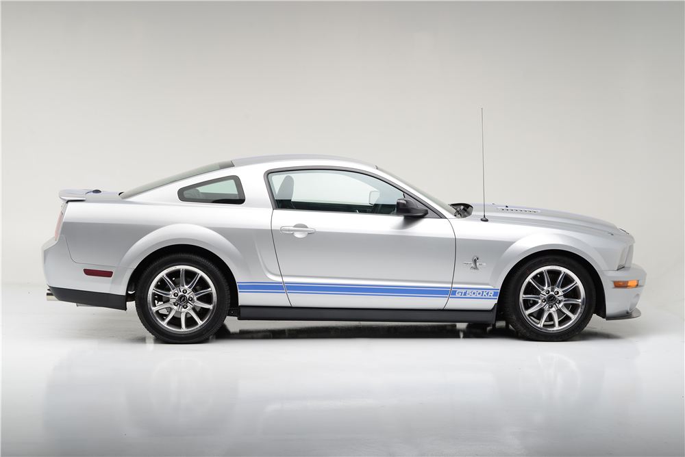 2008 SHELBY GT500 KR SERIAL #001 - Side Profile - 189765