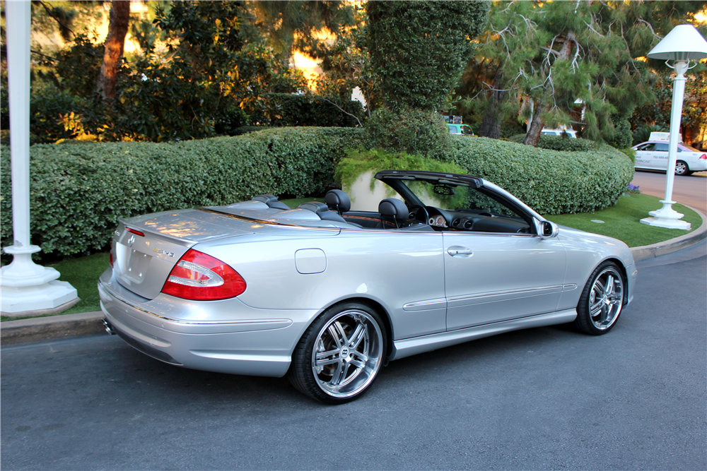2005 mercedes benz clk 55 amg convertible 189767. Black Bedroom Furniture Sets. Home Design Ideas